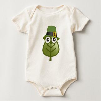 Irish Leaf Baby Bodysuit