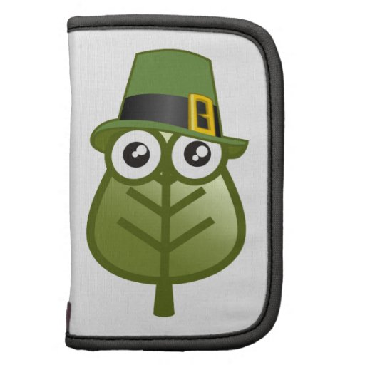 Irish Leaf Folio Planners