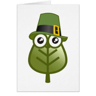 Irish Leaf Greeting Cards