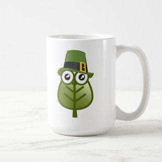 Irish Leaf Coffee Mug
