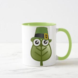 Irish Leaf Mug