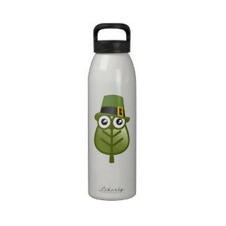 Irish Leaf Drinking Bottles