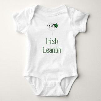 """""""Irish Leanbh"""" (Irish baby/child) one piece creepe Baby Bodysuit"""