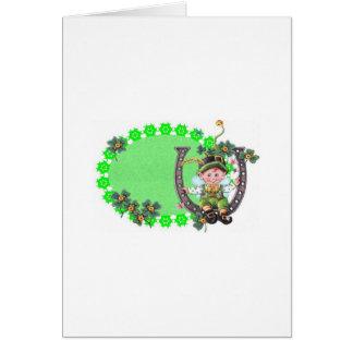 Irish Leprechaun Cards