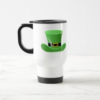 Irish Leprechaun Hat Lucky St. Patrick's Day 15 Oz Stainless Steel Travel Mug