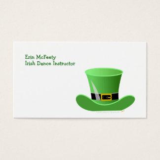 Irish Leprechaun Hat Lucky St. Patrick's Day Business Card