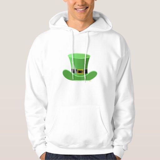 Irish Leprechaun Hat Lucky St. Patrick's Day Hoodie