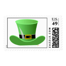Irish Leprechaun Hat Lucky St. Patrick's Day Postage