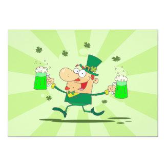 Irish Leprechaun 5x7 Paper Invitation Card