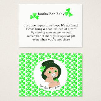 Irish Leprechaun Lucky Shamrock Books For Baby Business Card