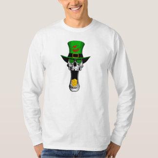 Irish leprechaun Skull T-Shirt