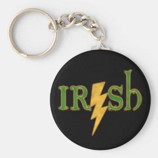Irish Lightning Bolt Keychain