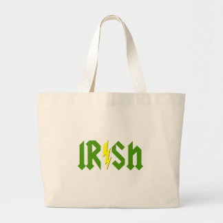 Irish Lightning Large Tote Bag