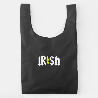 Irish Lightning Reusable Bag
