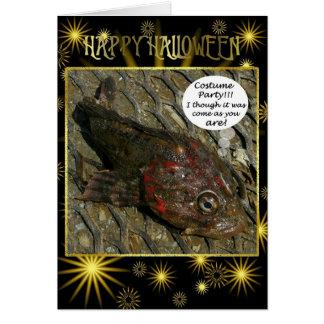 Irish Lord's Halloween, Unalaska Island Card