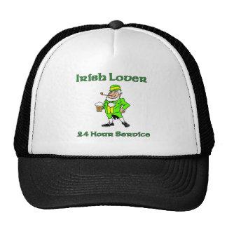 Irish Lover 24 Hour Service Trucker Hat