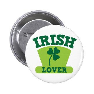 IRISH LOVER BUTTON