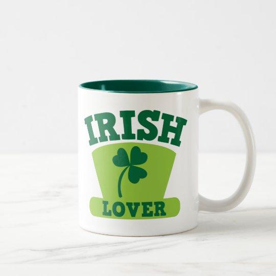 IRISH LOVER Two-Tone COFFEE MUG
