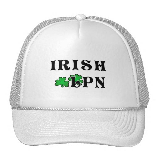 Irish LPN Trucker Hat