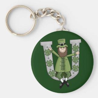 Irish Luck Basic Round Button Keychain