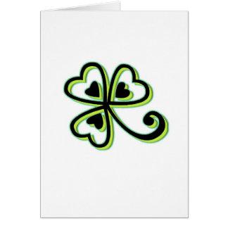 Irish Luck Card