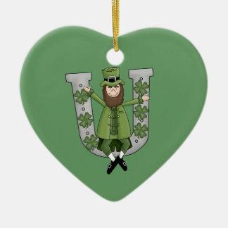 Irish Luck Ceramic Ornament