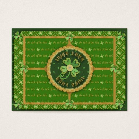Irish Luck Gift Tag