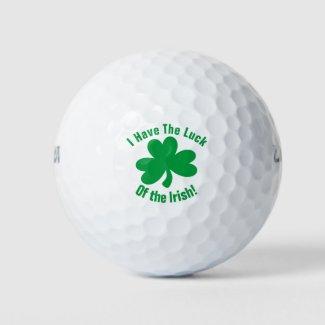 Irish Luck Golfing Clover Golf Balls