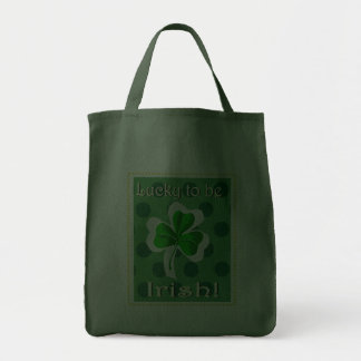 irish luck grocery tote grocery tote bag