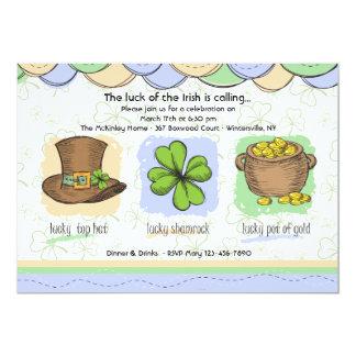 Irish Luck Invitation