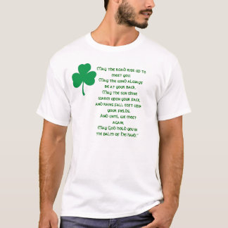 IRISH LUCK - Irish Luck & Blessing T-Shirt