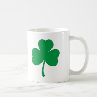 IRISH LUCK - Irish Shamrock Coffee Mug