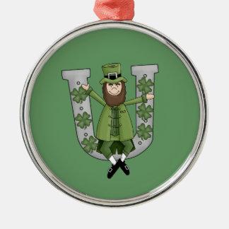 Irish Luck Metal Ornament