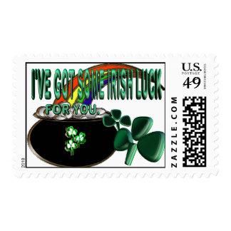 Irish Luck Postage Stamps