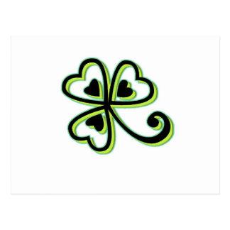 Irish Luck Postcard