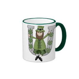 Irish Luck Ringer Mug