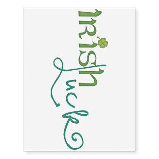 Irish Luck Temporary Tattoos