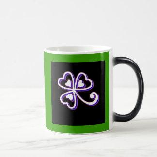 Irish Lucky clover Magic Mug