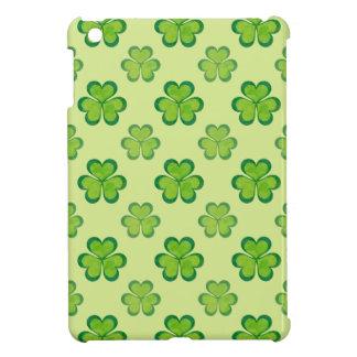 Irish Lucky Shamrocks Clovers Seamless Pattern Cover For The iPad Mini