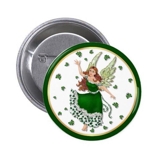 Irish Magic 2 Inch Round Button