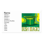 Irish Magic Double-Sided Standard Business Cards (Pack Of 100)