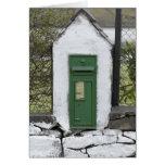 Irish Mail Box Card