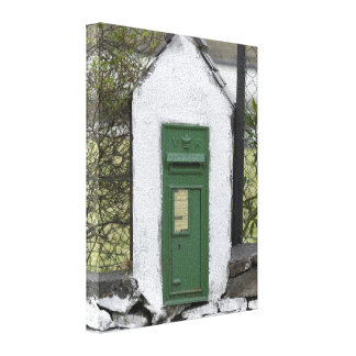 Irish Mail Wrapped Canvas