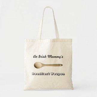 Irish Mammy's Wooden Spoon Tote Bag