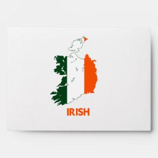 IRISH MAP ENVELOPES