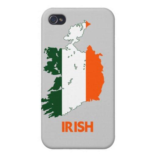 IRISH MAP iPhone 4 CASES