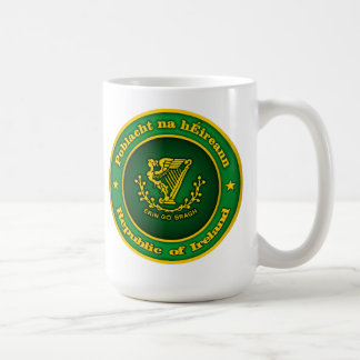 Irish Medallion Coffee Mug