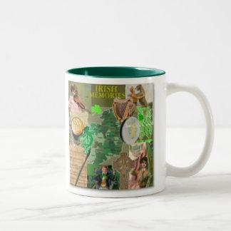 irish memories mug
