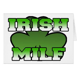 Irish MILF Greeting Card