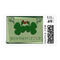 Irish Mistletoe -showcase your Irish heritage! Postage